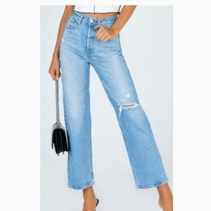 New LEVI'S Ribcage Straight Ankle